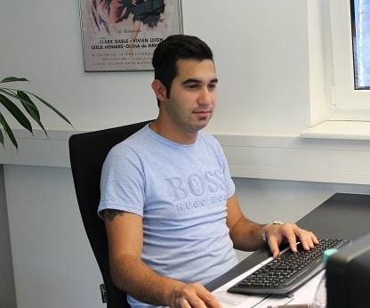 3D Badplanung Support Mitarbeiter Amir Ebrahimi