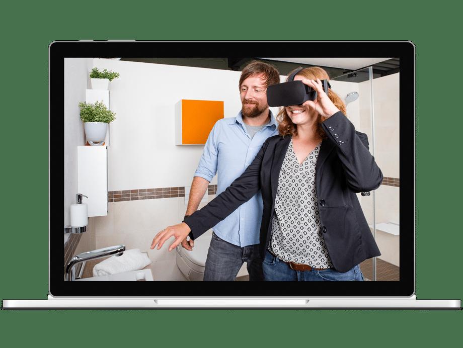 Virtual-Realtiy im Badezimmer