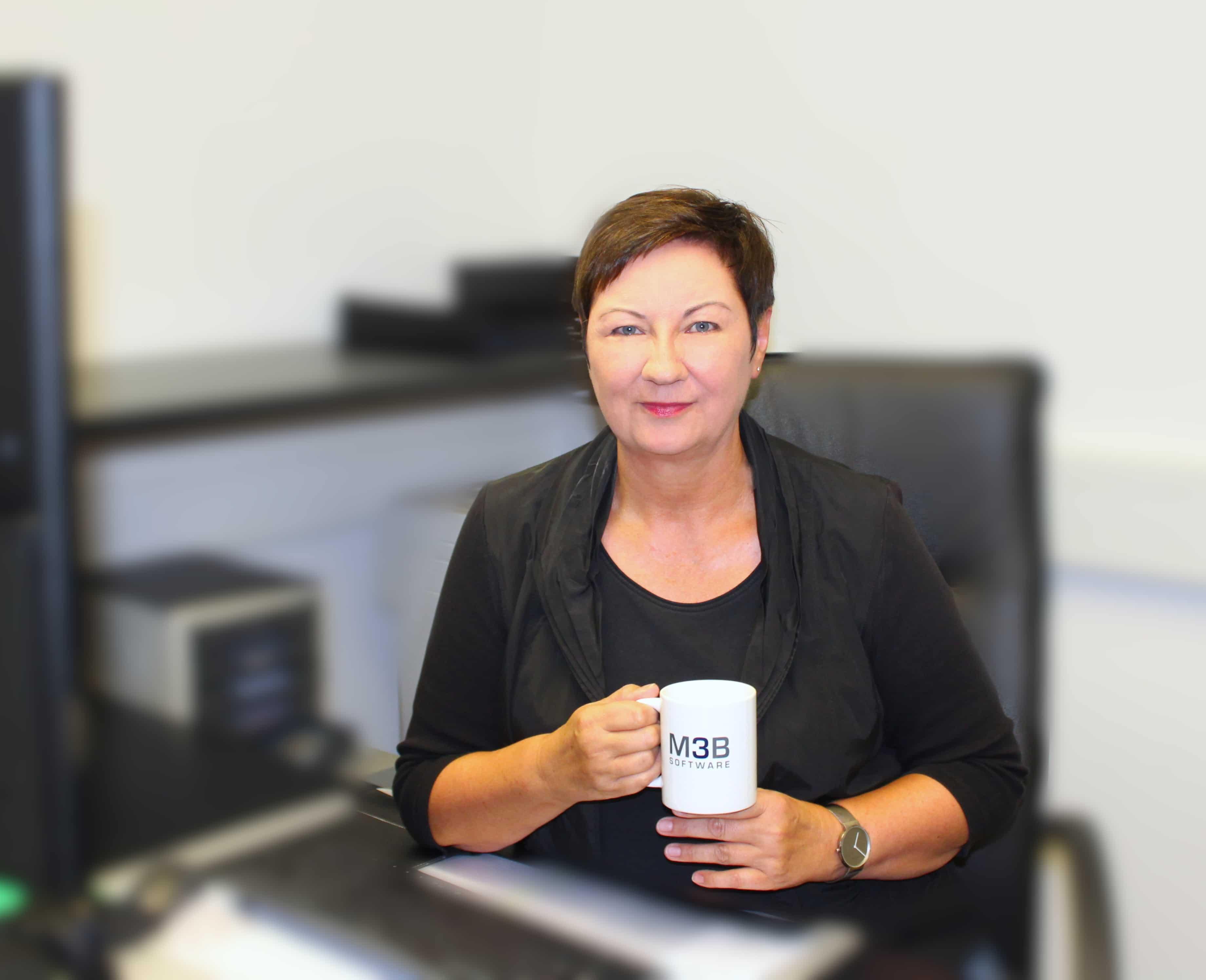 Monika Deitmerg von M3B Badplanungssoftware